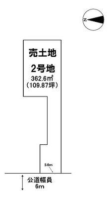 売土地 羽島市正木町曲利 2号地