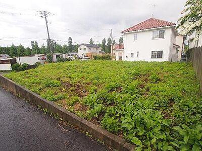 柴田郡川崎町 建築条件無し売地 41区画 現地写真です。