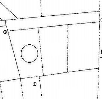 塩釜市字伊保石 建築条件無し売地 区画図です。