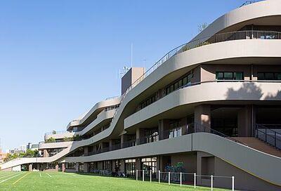 307平米建築可能「自由設計」白金台Selection 港区立白金の丘学園小学校