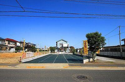瑞穂町箱根ヶ崎 建築条件無売地 全1区画 敷地面積が60坪超の平坦地です。