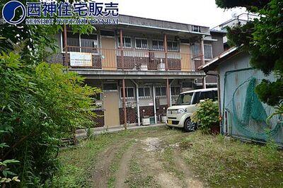 山陽電鉄 西新町駅から徒歩約8分の立地です。王子小学校、衣川中学校のエリアです。現地(2017年7…