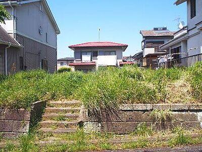 市原市石川 建築条件無し売地 現地写真です。