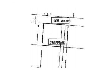 柴田郡柴田町剣崎1丁目 建築条件無し売地 区画図