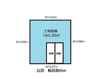 須磨区 多井畑東町 売土地 更地 土地価格2170万円 土地面積183.39平米