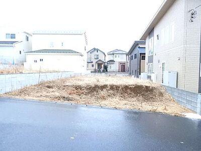 松戸市幸田1丁目 建築条件無し売地 松戸市幸田1丁目 現地土地写真です。