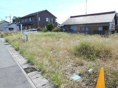 各務原市川島河田町 建築条件無し売地9号地 敷地約56坪。ゆったりといているので様々なプランを描けます。