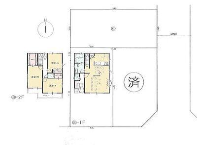 区画図・建物参考プラン