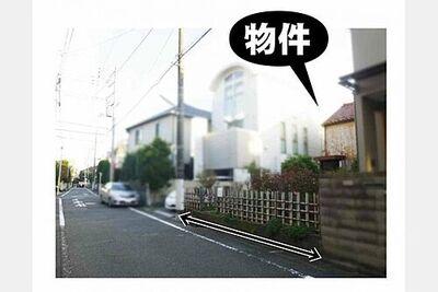 世田谷区奥沢一丁目 参考プランご相談承ります。S造、RC造プランも可能です。仲介手数料半額キャンペーン中。閑静な住宅街…