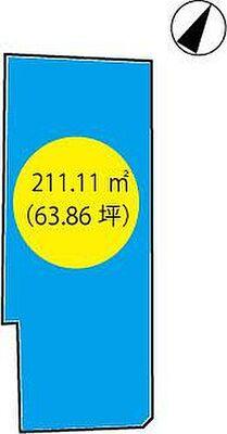 加古川市平岡町中野 敷地図