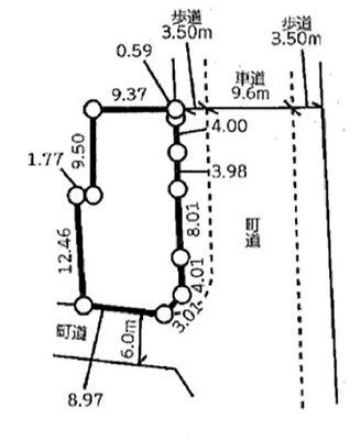 滑川町月の輪 全51区画 46区画(区画図参照)