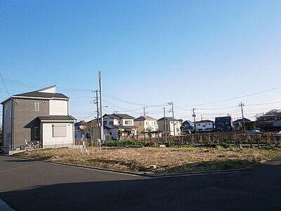 相模原市南区西大沼3丁目 建築条件無し売地 A区画 現地土地写真です。