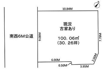東所沢和田1丁目 東所沢駅より徒歩13分です