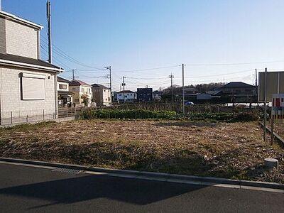 相模原市南区西大沼3丁目 建築条件無し売地 B区画 現地土地写真です。