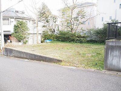千葉市緑区土気町 建築条件無し売地 現地写真です。敷地は約48坪ございます。