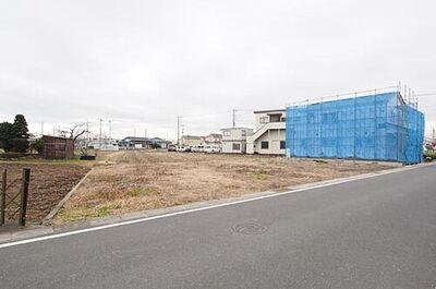 富士見市大字下南畑 土地 販売現地(2020.1月撮影)
