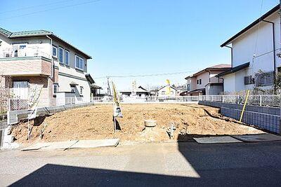 中鹿山建築条件なし売地全2区画 A区画 東急高麗川分譲地内