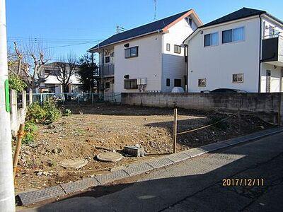 狛江市駒井町1丁目 売地 全1区画 現地外観・左側