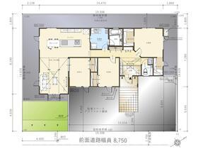 (③)、価格4560万円、3LDK、土地面積283.73m<sup>2</sup>、建物面積108.48m<sup>2</sup>
