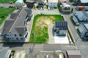 上空から見た現地(20120年8月)撮影<BR>4区画