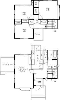 大字岩波 2490万円 2490万円、3LDK、土地面積364.46m<sup>2</sup>、建物面積99.36m<sup>2</sup>