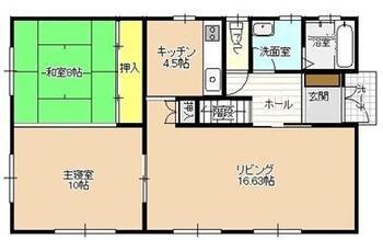 近江 2300万円 2300万円、3LDK+S(納戸)、土地面積246.7m<sup>2</sup>、建物面積154.02m<sup>2</sup> 1F平面図 広々としたゆとりあるLDK!