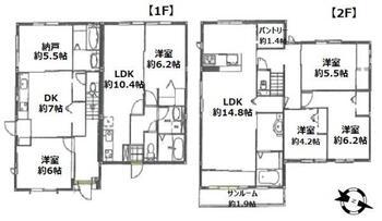 小川町2(青梅街道駅) 8280万円 8280万円、3LDK、土地面積198.1m<sup>2</sup>、建物面積170.82m<sup>2</sup>
