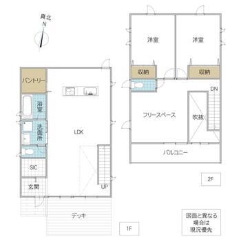 菅谷(中菅谷駅) 2400万円 2400万円、2LDK、土地面積278.76m<sup>2</sup>、建物面積105.98m<sup>2</sup>