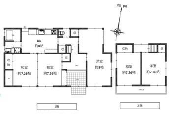 須波ハイツ3(須波駅) 850万円 850万円、5DK、土地面積255.59m<sup>2</sup>、建物面積119.86m<sup>2</sup>