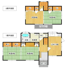 大字南俣 1000万円 1000万円、4DK、土地面積199.23m<sup>2</sup>、建物面積91.14m<sup>2</sup>