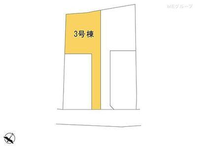 野田市中根第5 新築一戸建て 全3棟 3号棟 図面と異なる場合は現況を優先