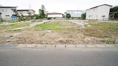 角田市角田5期 全7棟 2号棟 現地外観写真 閑静な住宅地で叶える穏やかな新生活。
