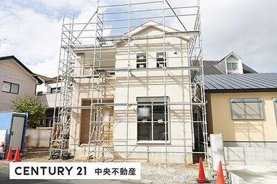 東区有玉西町 第3期  新築全1棟 \工事進捗状況/2020.11.19外壁工事の様子撮影。
