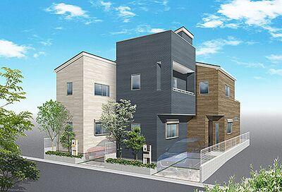 上尾市中妻1丁目 新築一戸建て 全2棟 2号棟