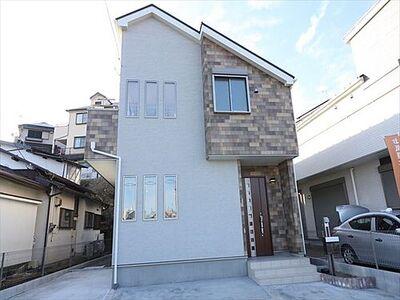 横浜市青葉区柿の木台 新築分譲住宅 全3棟3号棟 外観