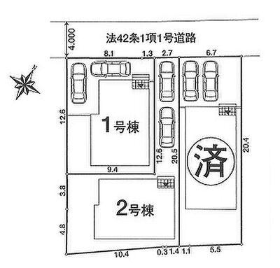 上尾市原市 新築一戸建て NO.2