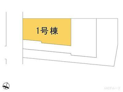 南区松本5期 新築一戸建て 全3棟 1号棟 図面と異なる場合は現況を優先