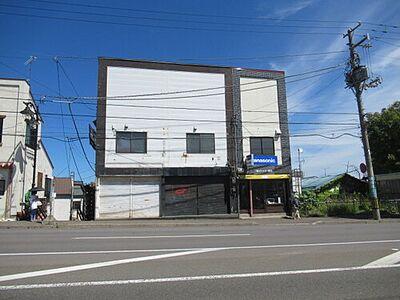 3棟続きの小樽側2戸部分 駐車場なし