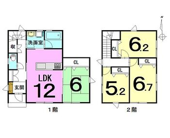 李平下安原 新築戸建 駐車場は4台可能!令和3年1月に完成!住まい給付金対象物件(最大50万)!