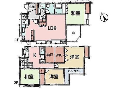 閑静な住宅街 「北鎌倉」駅から徒歩9分