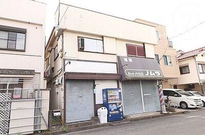 店舗付き住宅 昭島市中神町 中古戸建 外観です