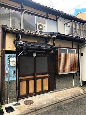 下鴨蓼倉町 中古テラスハウス レトロな京町家です。