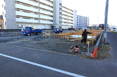 GRAFARE 多賀城市明月 3号棟 現地写真