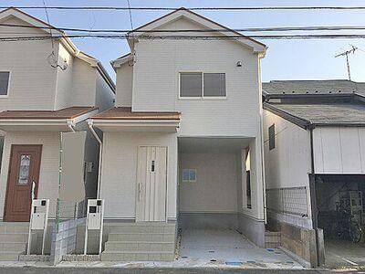 所沢市中新井4丁目 新築分譲住宅 全2棟 1号棟 閑静な住宅地です。