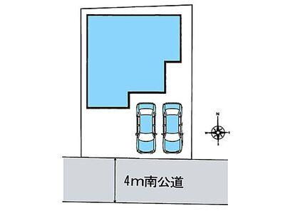 さいたま市桜区大久保領家 区画図