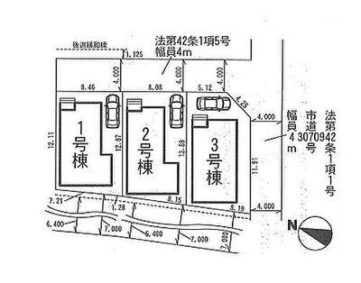 さいたま市北区奈良町 新築一戸建て 1期 No.3