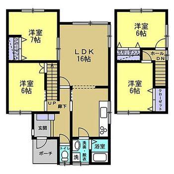 北斗市七重浜8丁目 戸建て 【リフォーム前】水廻りすべて新品交換します。2階は2部屋に変更予定です。