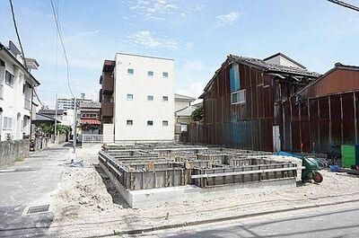 東区箱崎2丁目 1号棟 新築戸建 2020年10月完成予定です。お楽しみに(^^