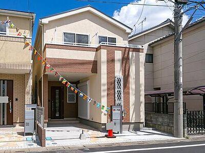 川口市南鳩ヶ谷2期 新築一戸建て 全3棟 C号棟 外観