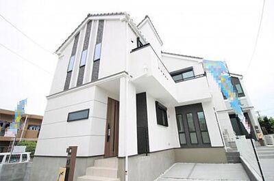 新築 藤沢市長後13期 4号棟 施工例です。建築中につき同施工建物のご案内できます。